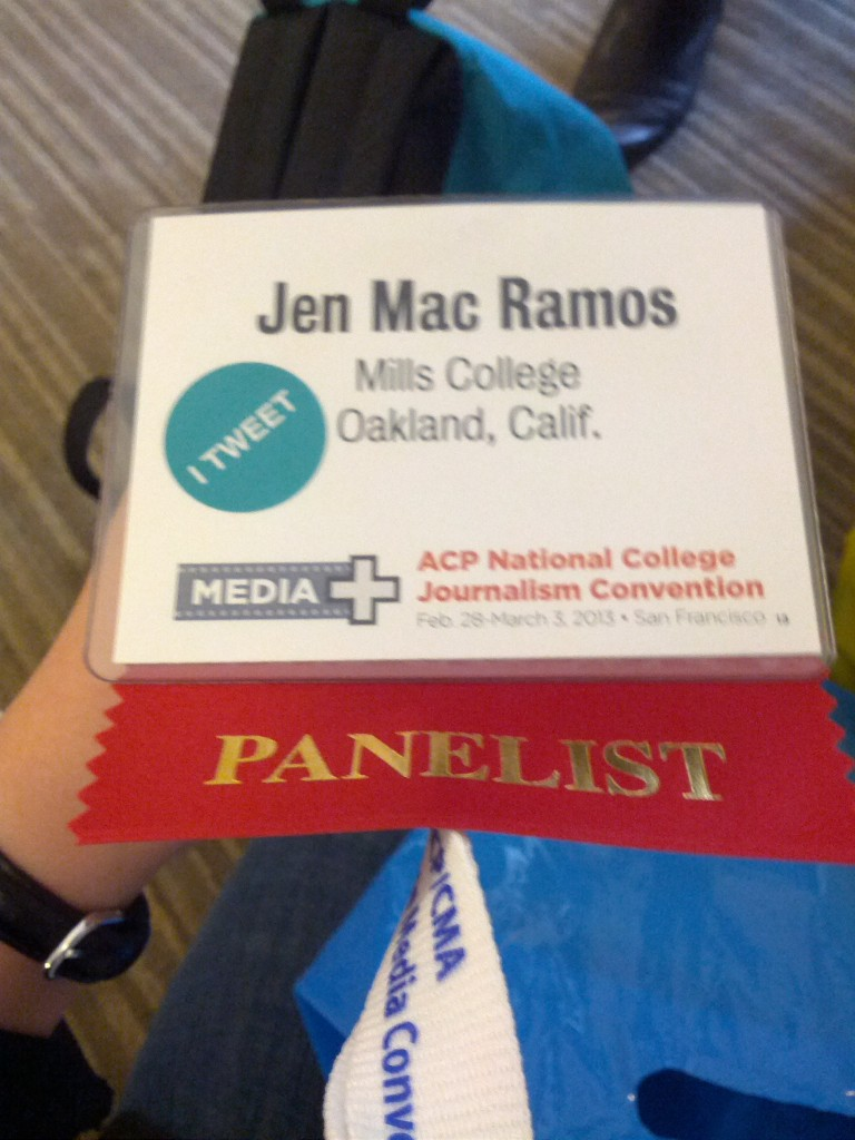 Second year at ACP, second year as a panelist. (Jen Mac Ramos)