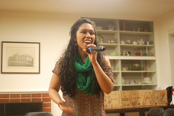 "Aisha Fukushima, a San Francisco native and internationalist, sings songs of her own as well as a cover of ""Hometown Glory"" by Adele."