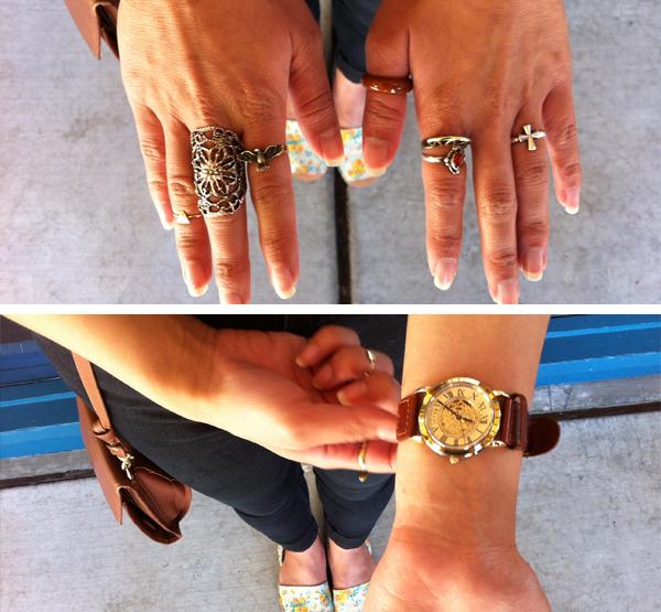 Alanna's jewelry.