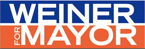 Actual logo from Anthony Weiner's Facebook page.