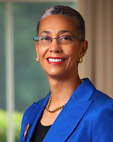 President Alecia DeCoudreaux is focusing on the budget being consistently balanced each year. (Courtesy of Mills College)