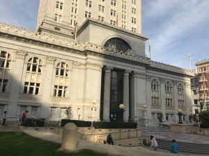 Oakland City Council Hall is the seat of government for the city of Oakland, California.