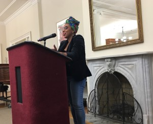 Poet Morgan Parker candidly spoke about topics such as  mental health an d the historically white popularized canon of poetry during the Contemporary Writer's Series  event.