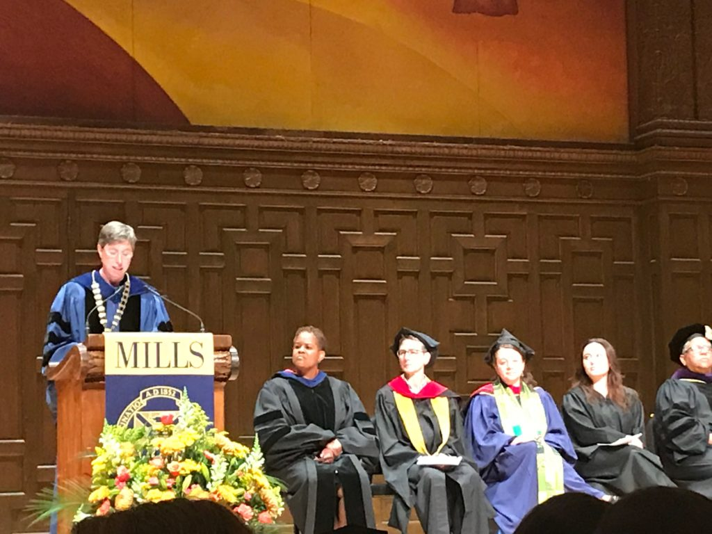 Villanova Graduation 2020.Mills Marks The Start Of 2019 2020 Academic Year With